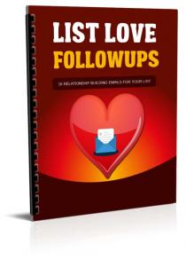 List Love Followups
