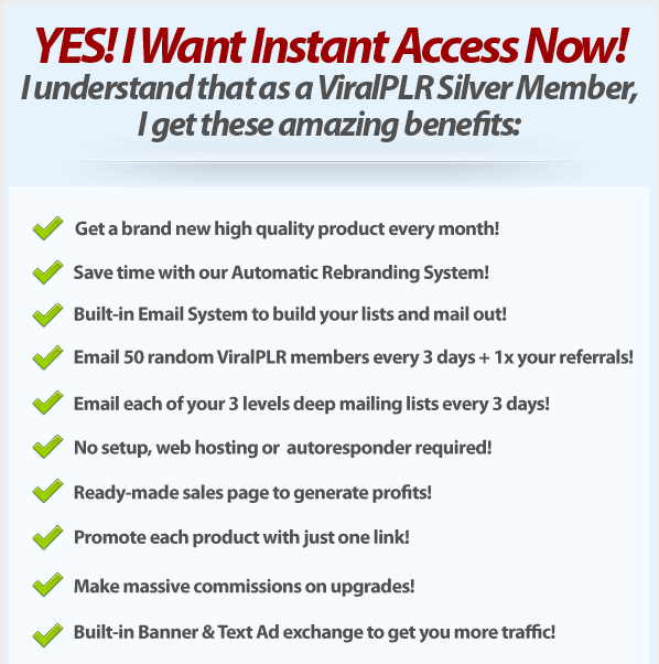 Yes! I Want Instant Access Now!